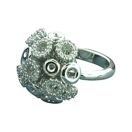 Salvini 18K White Gold & Diamond Ring