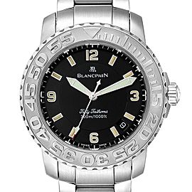 Blancpain Fifty Fathoms Specialties Divers Steel Mens Watch 2200
