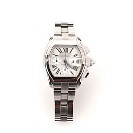 Cartier Roadster Chronograph Automatic Watch Stainless Steel 43