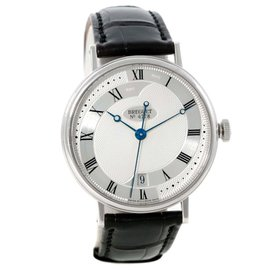Breguet 5197BB/15/986 Classique 18K White Gold Automatic Mens Watch