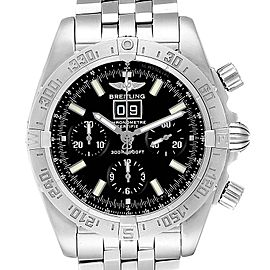 Breitling Chronomat Blackbird Chronograph Steel Mens Watch A44359