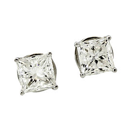 Jacob & Co. 18K White Gold & Diamond Stud Earrings