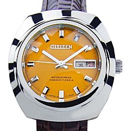 Citizen Diashock 17 Jewels Manual Vintage Mens Watch 1970