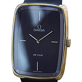 Omega Deville Swiss Made Gold Plated Manual Vintage Mens 1970s Watch