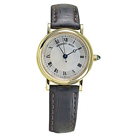 Breguet Classique 8067 Mother of Pearl Dial 18K Yellow Gold Automatic Womens Watch