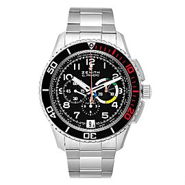 Zenith El Primero Stratos Flyback Steel Mens Watch 03.2061.405