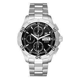 Tag Heuer Aquaracer Black Dial Chronograph Mens Watch CAF2010