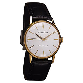 Seiko Crown Gold Plated Manual 34mm Men Dress Watch 1960