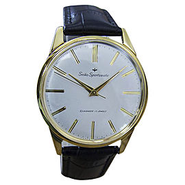 Seiko Sportsmatic Gold Plated / Stainless Steel Vintage 37mm Mens Watch