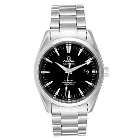 Omega Seamaster Aqua Terra Black Dial Mens Watch 2502.50.00