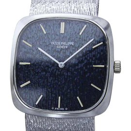 Patek Philippe 18K White Gold Manual 28mm Unisex Watch 1970