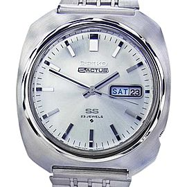 Seiko Actus 5 Stainless Steel Automatic 38mm Mens Watch 1970