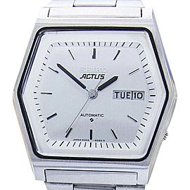 Seiko Actus 6309-513C Stainless Steel Automatic 38mm Mens Watch 1970s