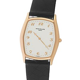 Patek Philippe Gondolo 3842/000R 18K Rose Gold 29mm Mens Watch