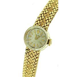 Rolex Datejust 1401 14K Yellow Gold 15mm Womens Watch