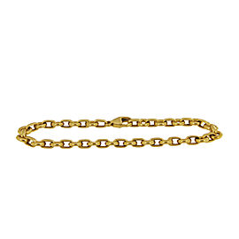 Tiffany & Co. 18 k Yellow Gold Round Chain Link Bracelet