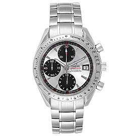 Omega Speedmaster Day-Date Silver Panda Dial Mens Watch 3211.31.00