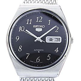 Seiko Stainless Steel Vintage 38mm Mens Watch