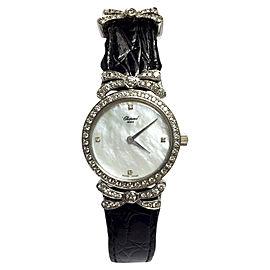 Chopard Mont D'or 18K White Gold Quartz 23.5mm Womens Watch