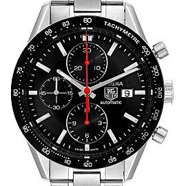 Tag Heuer Carrera Black Dial Chronograph Mens Watch CV2014