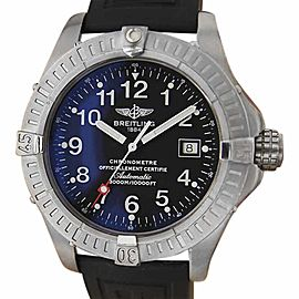 Breitling Avenger Seawolf Titanium Swiss Made Automatic 44mm Mens Watch