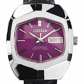 Citizen Diashock Vintage 37mm Mens Watch