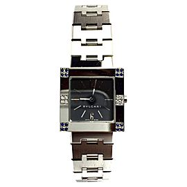 Bulgari Stainless Steel Quartz 22mm Womens Watch