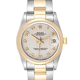 Rolex Datejust Midsize 31 Steel Yellow Gold Ladies Watch 68243