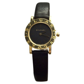 Bulgari Diagono 18K Yellow Gold 23mm Womens Watch