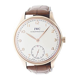 IWC Portuguese IW545409 44mm Mens Watch