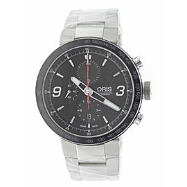 Oris TT1 Chronograph 01 674 7659 4174-07 8 25 10 45mm Mens Watch
