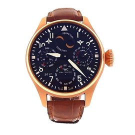 IWC Big Pilot's Perpetual Calendar IW502638 18K Rose Gold Automatic 46mm Mens Watch