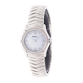 Ebel Classic Wave 9157F14-24725 23mm Womens Watch