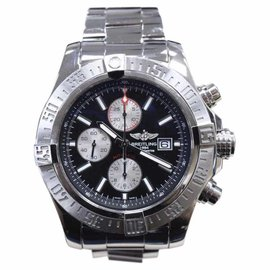 Breitling Super Avenger II A13371 Stainless Steel 48mm Mens Watch