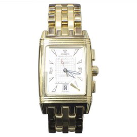 Jaeger-LeCoultre Reverso Gran Sport 295.1.59 18K Yellow Gold 28mm Womens Watch