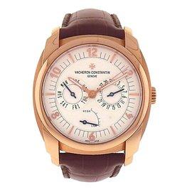 Vacheron Constantin Quai de l'Ile Day Date 85050/000-I0P29 18K Rose Gold 41mm Mens Watch