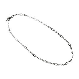 Roberto Coin 18K White Gold Chain Link Necklace