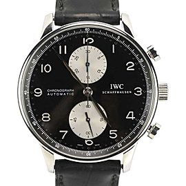 IWC Portuguese 3714 3714-04 IW371404 Stainless Steel 41mm Mens Watch
