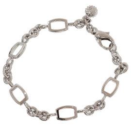 Franck Muller Talisman 18K White Gold Chain Link Bracelet