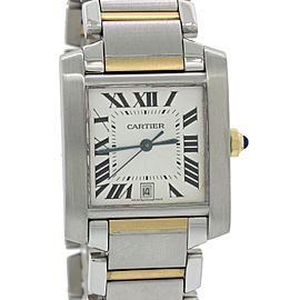 Cartier Tank Francaise Steel Unisex Watch