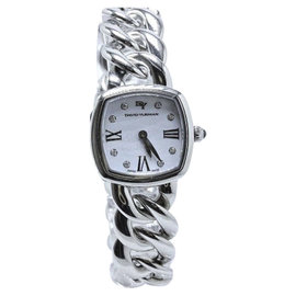 David Yurman Albion T9004QSSTBRAC Stainless Steel with Diamonds Quartz 23mm Womens Watch