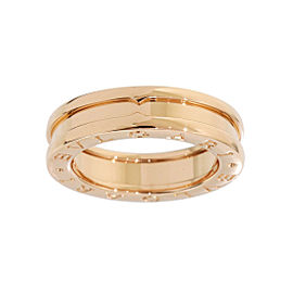 Bulgari B.Zero 1 18K Rose Gold Ring Size 4.5