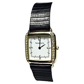 Tiffany & Co. TC8481M 18K Yellow Gold with Diamonds Quartz 27mm Womens Watch