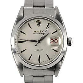 Rolex Vintage Oysterdate 6694 34mm Mens Watch