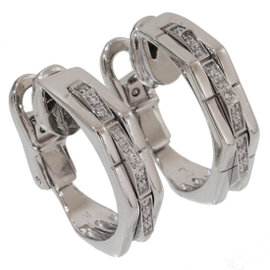 Chimento 18K White Gold with Diamond Earrings