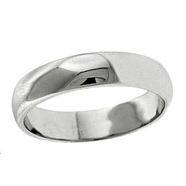 Tiffany & Co. Platinum Wedding Band Ring Size 14