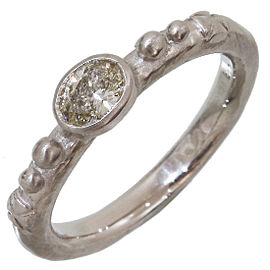 Loree Rodkin 18K White Gold Diamond Ring