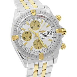 Breitling Chronomat Evolution B13356 18K Yellow Gold & Stainless Steel Automatic 44mm Mens Watch