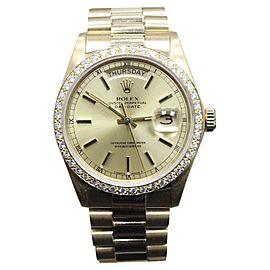 Rolex Day Date 18038 36mm Mens Watch