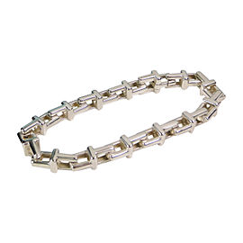 Tiffany & Co. Sterling Silver T Link Chain Bracelet
